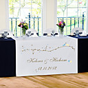Personalize Reception Desk Table Runner - Spring