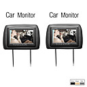 9 polegadas tela digital carro headrest monitor, 1 par