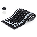 88 Key Flexible QWERTY USB Keyboard (Waterproof, Assorted Colors)