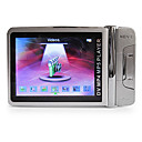 2,4-Zoll-Metallgehuse MP4-Player mit 1,3 MP-Kamera (4 GB, Silber)
