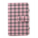 Synthetic Lattice Leather Case Cover for 7 Inch Tablet PC (Pink)