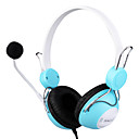 3.5mm stereo mj-670mv fashion over-ear hoofdtelefoon met microfoon mp3/mp4
