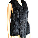 Genuine Raccoon And Rabbit Fur Vest