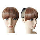 Clip in Lovely Synthetic Neat Bang- 4 Colors Available