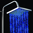 8 Inch A Grade ABS Chrome Finish LED Rain Shower head