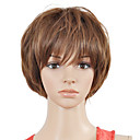 Capless Top Grade Quality Synthetic Sweetness Straight Short Wig