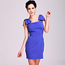 TS Bow on Shoulders Modern Dress (More Colors)