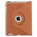 360 Degree Rotable Mailman Bag Style PU Leather Case with Stand for iPad 2/3/4 (Coffee)