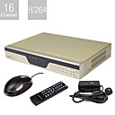 baixssimo preo de 16 canais H.264 DVR (acesso remoto, rede)