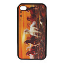 TP8 - Exquisite 3D Animal Pattern Back Cover for iPhone4 and 4s