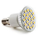 E14 5050 SMD 21-LED warm wit 200-220lm gloeilamp (230 V, 3-3,5 W)