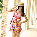 Bohemian Beach wave Floral Dress