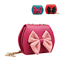 bella pu borsa bambini con bowknot