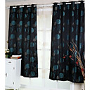 (Two Panels) Jacquard Modern Energy Saving Curtains