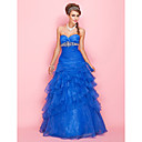 Ball Gown Sweetheart Floor-length Organza Evening/Prom Dress