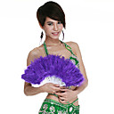 Dancewear Feathers Performance Belly Dance Fan For Ladies More Colors