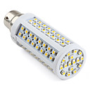 B22 112-SMD 3528 5.5-6W 750LM 2800-3500K Warm White LED Corn Bulb (220-240V)
