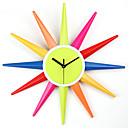 Creative Designed Wall Clock in Colorful Fashion Design