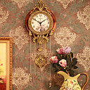 bois antique inspir horloge murale