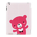 Thin Case with bear pattern case for iPad2 and the new iPad