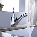 Sprinkle by Lightinthebox - Morden Solid Brass Bathroom Sink Faucet Chrome Finish