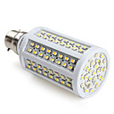B22 SMD 3528 156led 500lm 8,5 W lampadine calde mais bianco (220-240V)