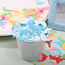 Little Dolphen Shaped Paper Confetti - Pack of 350 Pieces (Random Color)