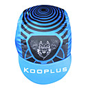 KOOPLUS-Men's 100% Polyester Cycling Cap (Blue)