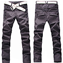 Man Fashion Fasten Trousers(Belt Excluded)