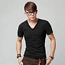 Simple Men's Slim Short Sleeve T shirt