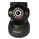 wanscam - camera ip wireless com controle remoto ângulo (áudio nightvision, 2way)
