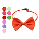 Elegant Adjustable Bowtie Collar Necklace for Dogs (Random Colors)