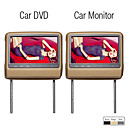 9 Inch TFT LCD Headrest DVD with Touch Screen(1 DVD + 1 Monitor)