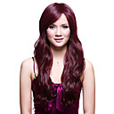 Capless Long Top Grade Synthetic Japanese Kanekalon Big Wavy Wig Side Bang