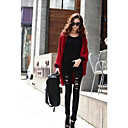 Women's Loose Bat Sleeve Solid Color Cardigan