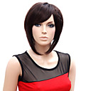 Capless Short High Quality Synthetic Japanese Kanekalon Straight Wig Side Bang