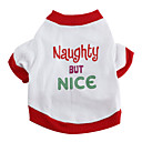 Naughty But Nice Cotton T-Shirt for Dogs (XS-M)