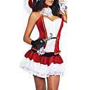 Sexy Mulheres adultas pirata Red Halloween Costume