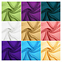 100% Polyester Woven Solid Chiffon (100D) By The Yard (Many Colors)