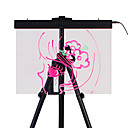 2.4W Multi-color LED Lighted Writable Menu Board / Message Board Marker Included (28 Light Modes / Easel not Included)