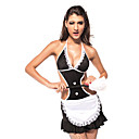 Femmes Sexy Halloween Costume Femme de chambre (1 Pieces)