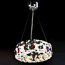 Comtemporary Aluminum Pendant Lights with 8 Lights in G4 Bulb Base