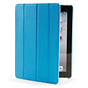 Spider 4 Fold PU Leather Case og stativ for den nye iPad og iPad 2 (Assorterte farger)