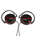 Hi-Fi Ear Hook Headphones,Black,White