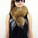 Gorgeous Raccoon Fur Party / Evening Scarf