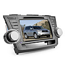 8 Inch Car DVD Player for TOYOTA HIGHLANDER (Bluetooth,GPS,iPod,RDS,SD/USB,Steering Wheel Control,Touch Screen)