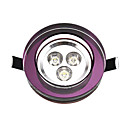 3W LED plafond licht met 3 LED's en Purple Circle in Round Feature