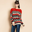 TS Wave Stripes Cozy Loose Sweater