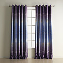 (Two Panels) Modern Print Geometic Polyester Blackout Curtains