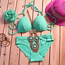 Lady Wireless Cotton Bikini Bra Set